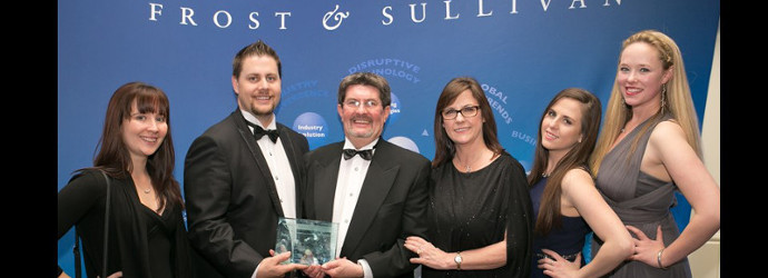 The Frost and Sullivan award