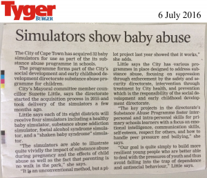 RealCare simulators newspaper clippings