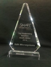 SMART Reseller Award 2014 Edit Microsystems