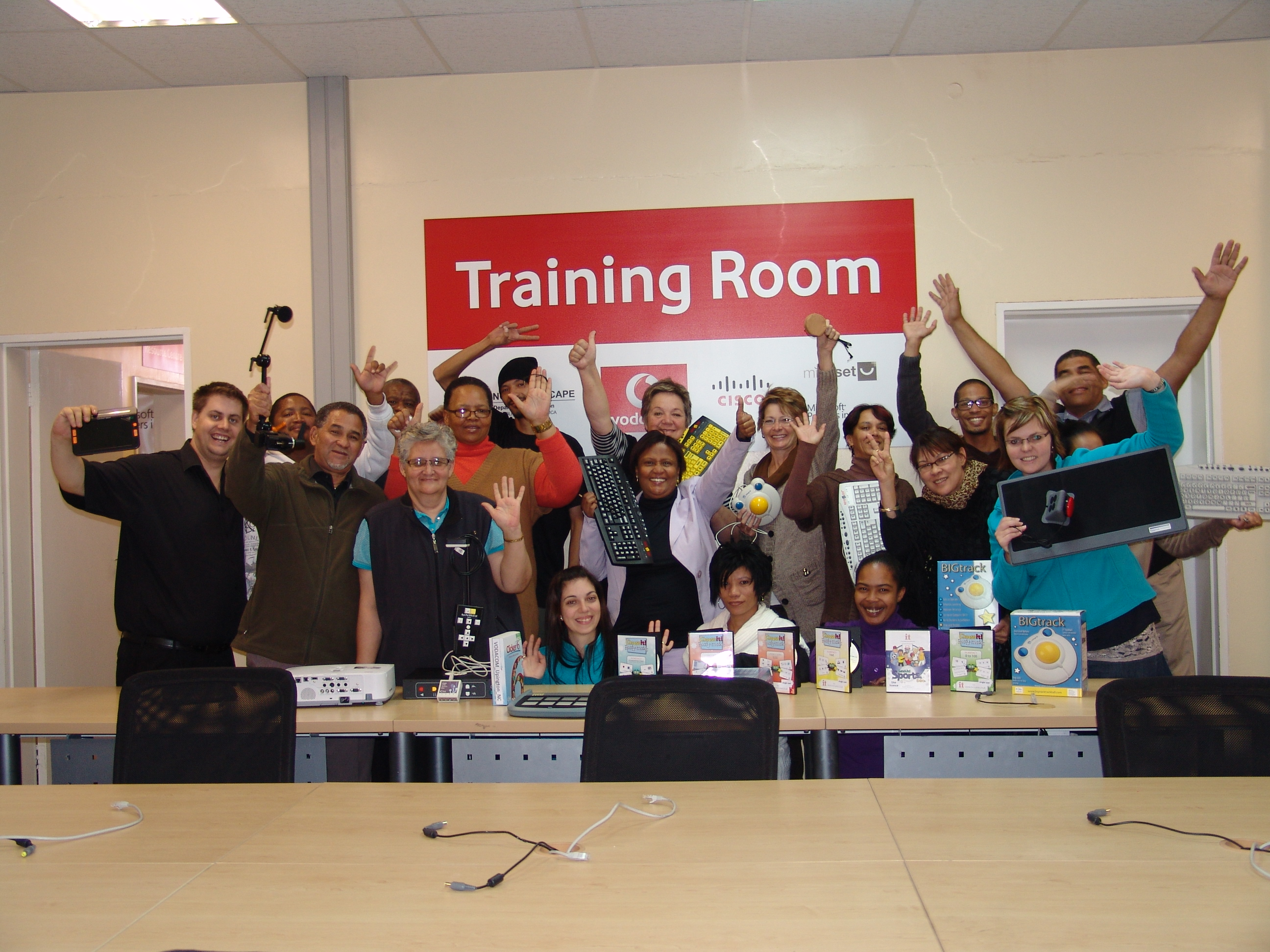vodacom project training by Edit Micro