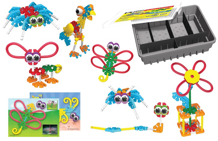 Kid KNEX Organisms and life cycles