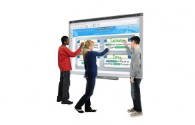 SMART Board SBM680V interactive whiteboard for education only