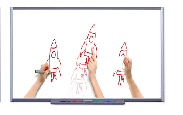 SMART Board M685 interactive whiteboard by Edit Microsystems