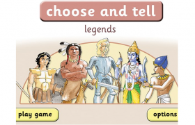 The choose and Tell: Legends Software