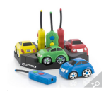 Easi Cars Set of 4 Rechargeable cars by Edit Microsystems