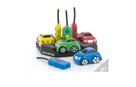 Easi-Cars - Set of 4 Rechargeable Cars