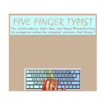 Five Finger Typist by Edit Microsystems