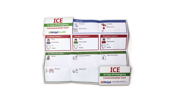 Widgit ICE Communication Cards