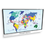 SMART Board 6065 Interactive Flat Panel system by Edit Microsystems