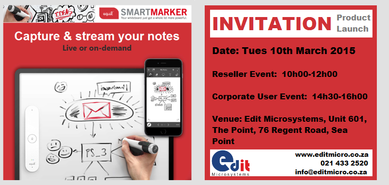 smartmarker launch
