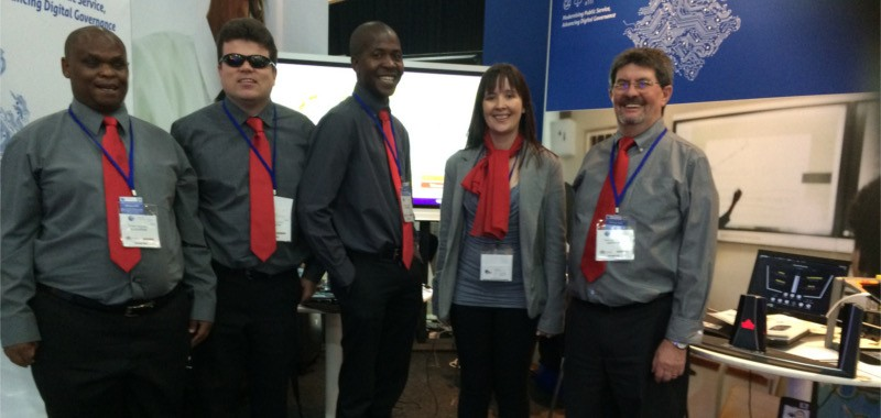 Edit Microsystems exhibited at the Gauteng e-Gov Summit