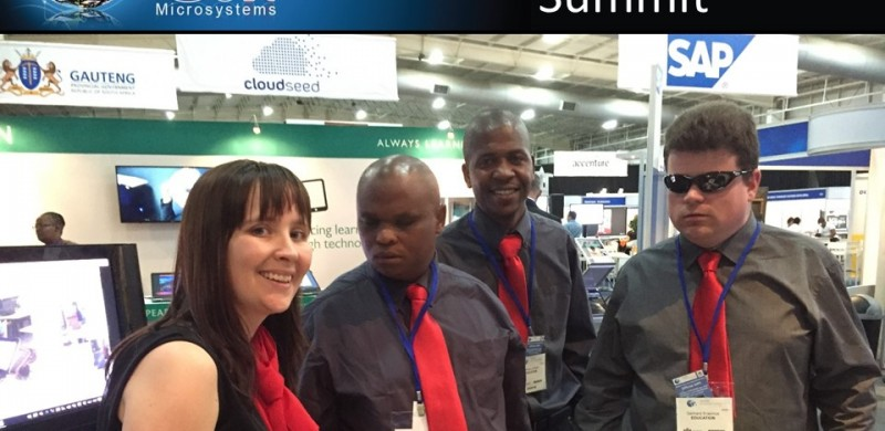 Edit Microsystems at the Gauteng e-Gov summit (2)