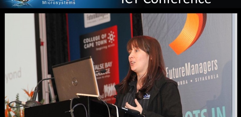 Edit Microsystems presented at the North South TVET conference