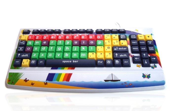 Accuratus Monster 2 – Early Learning Keyboard with Large Keys and Printed Child Friendly Design