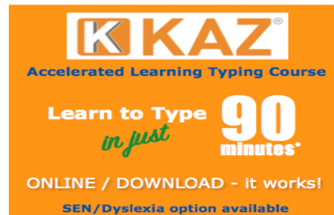 KAZ Typing Tutor