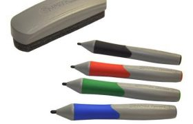 SMART Whiteboard Pens (Black/Blue/Red/Green) & Eraser
