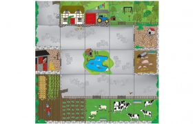 Bee-Bot® and Blue-Bot Farmyard Mat