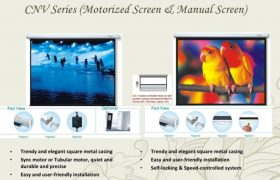 GRANDVIEW CNV Series Projector Screens