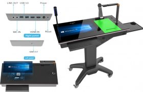 HoverCam HCP3-P Pilot 3 Plus Mobile Digital Podium (i7)