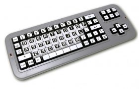 Clevy Contrast Keyboard