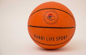 Basketball size 5, Orange Rubber Sound Ball