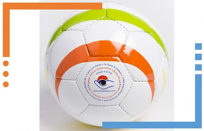 The official football for the blind