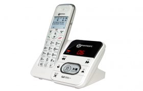 AMPLIDECT295 Amplified Cordless Phone with Answering Machine