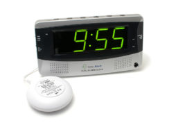 The Sonic Boom Dual Alarm Clock With Super Shaker