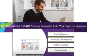 SMART Recorder Allows for Easy Lesson Recording