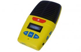 Micro-Speak 8GB Yellow Digital Voice Recorder