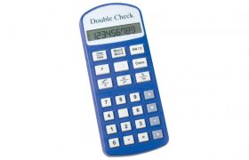 Double Check Talking Financial Calculator