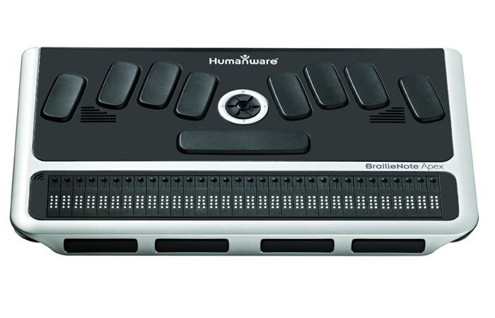 BrailleNote Apex BT 32 Braille Notetaker