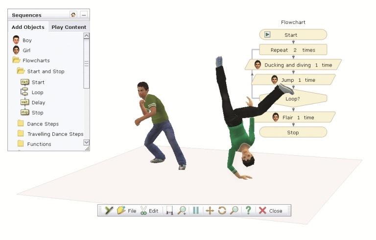 Yenka Programming