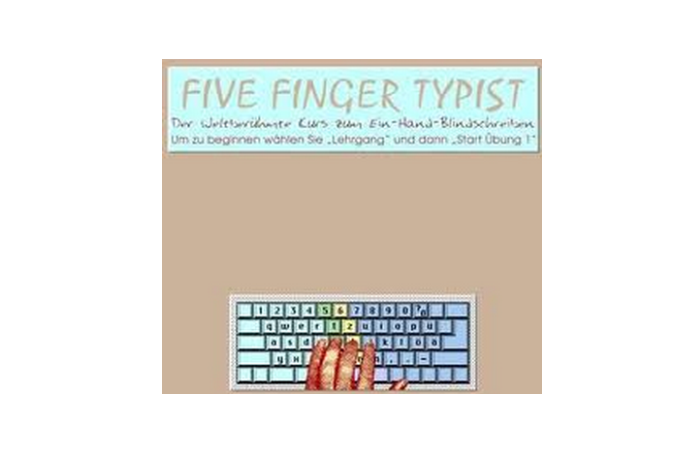 Five Finger Typists