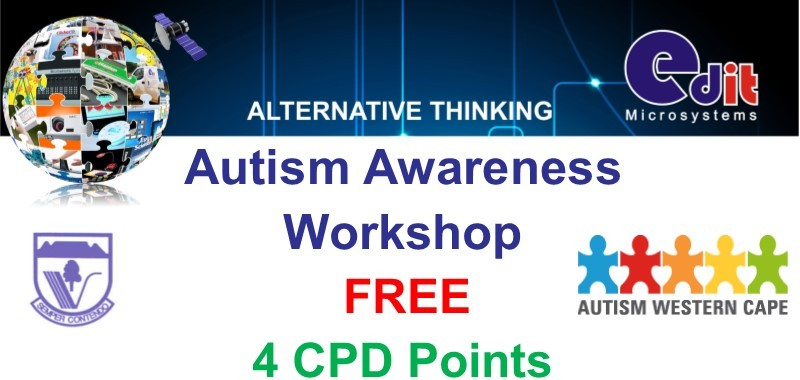 4 CPD points free autism workshop