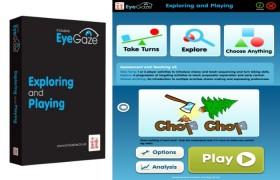 Eye Gaze: Exploring and Playing Software