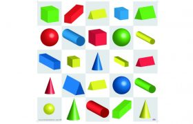 Bee-Bot® and Blue-Bot 3D Shapes Mat