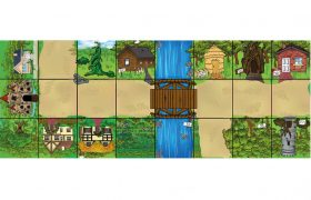 Bee-Bot® and Blue-Bot Fairytale Mat