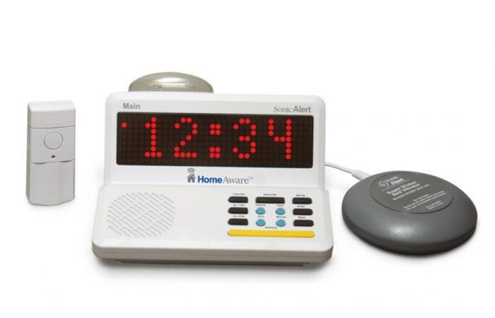 Sonic Alert HomeAware Starter Kit -Doorbell & Alarm Clock
