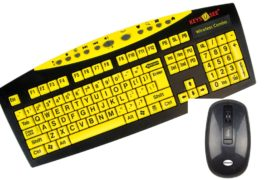 Keys-U-See Wireless with Mouse