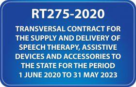 National Treasury RT275-2020 Catalogue