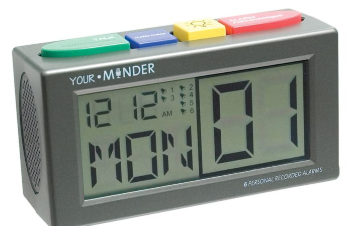 Talking Personal Recording Alarm Clock